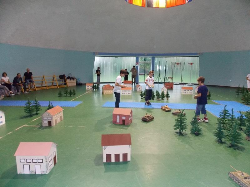 Battaglie di RCTANKIR in Campo Indoor 23 settembre Indoor19