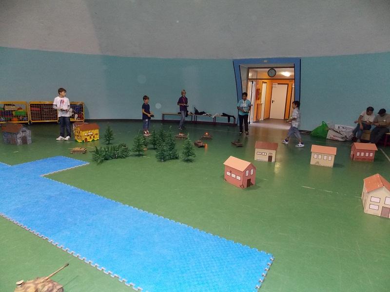 Battaglie di RCTANKIR in Campo Indoor 23 settembre Indoor21