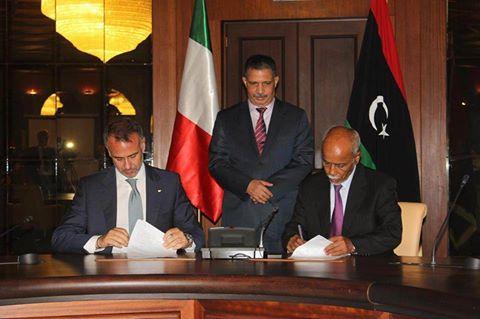توقيع اتفاقية بين طرابلس وروما لفتح الأجواء بين البلدين ودعم الطيران المدني الليبي 13606610