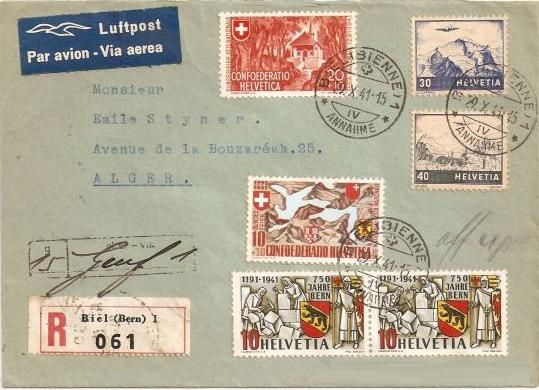SBK 253  (Mi 398) 750 Jahre Bern 03alge10