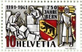 SBK 253  (Mi 398) 750 Jahre Bern 10_wei10