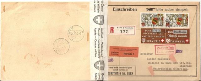 SBK 253  (Mi 398) 750 Jahre Bern 13936610