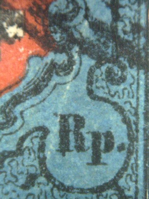 SBK 15I, Rayon I, dunkelblau mit Kreuzeinfassung 15iwei10