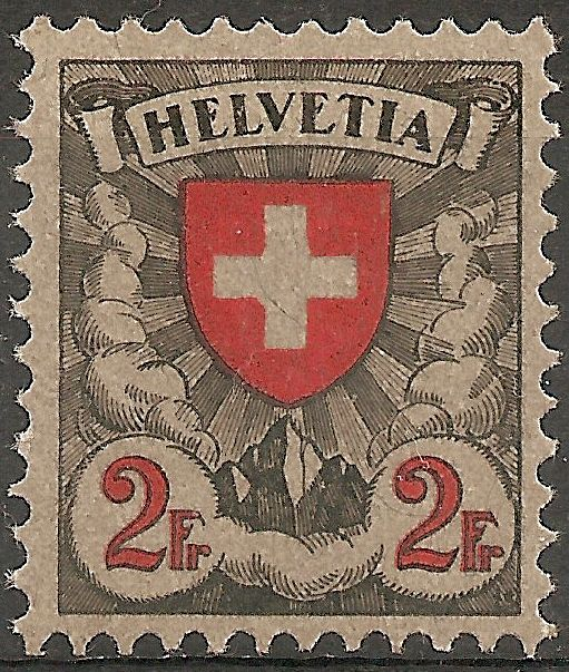SBK 166 (Mi 197x) Wappenschild 16610