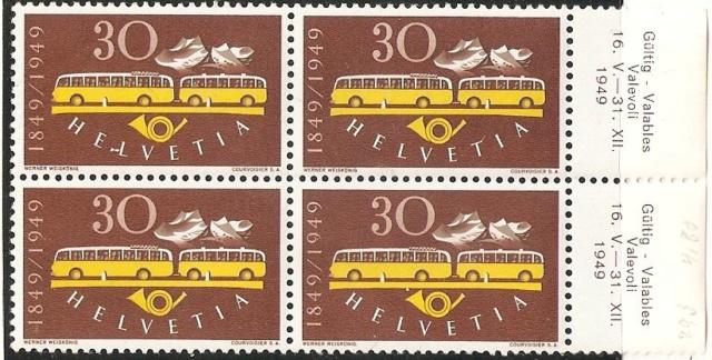 SBK 293 (Mi 521) Postautomobil / 100 Jahre Eidgenössische Post 29320410