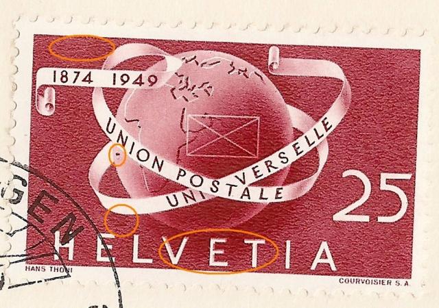 SBK 295 Weltkugel und Brief 29530211