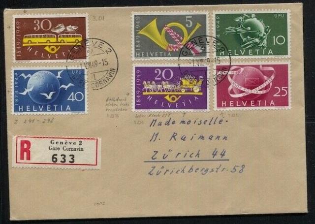 SBK 293 (Mi 521) Postautomobil / 100 Jahre Eidgenössische Post 30110
