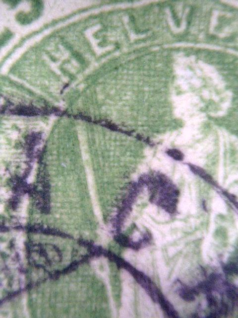 SBK 67A, Stehende Helvetia 25 Rp 67a_re10
