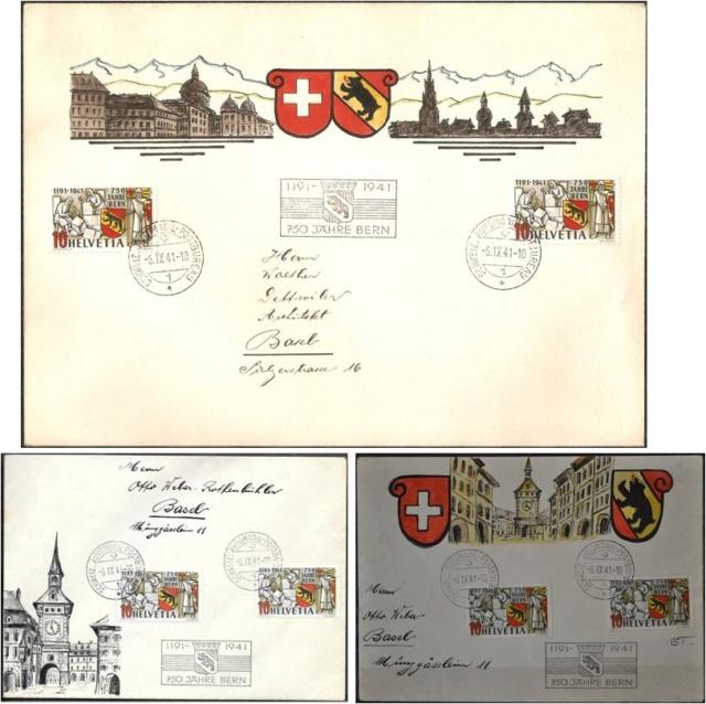 SBK 253  (Mi 398) 750 Jahre Bern - Seite 3 750_ja15
