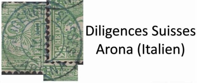 SBK 40 (Mi 32) 25 Rp grün, weisses Papier 1868 - Schweizer Post in Italien Arona Arona210