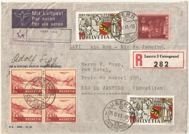 SBK 253  (Mi 398) 750 Jahre Bern Brasil10