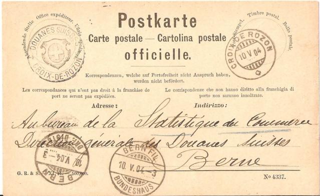 Ein Ganzsachensammler als Gegenpol zu vielen Briefmarkensammlern Croix-10
