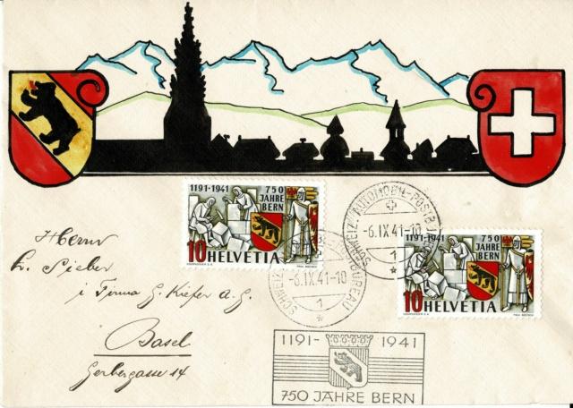 SBK 253  (Mi 398) 750 Jahre Bern - Seite 4 Fdc_il10
