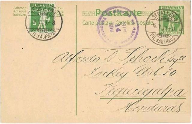 Ein Ganzsachensammler als Gegenpol zu vielen Briefmarkensammlern Hondur10