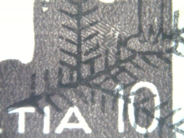 SBK 233z Landi Armbrust 10 Rp., französisch Karten10