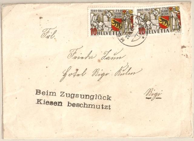 SBK 253  (Mi 398) 750 Jahre Bern Kiesen10
