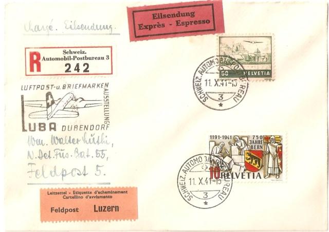 SBK 253  (Mi 398) 750 Jahre Bern Militz10