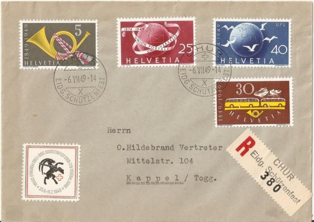 SBK 293 (Mi 521) Postautomobil / 100 Jahre Eidgenössische Post Ret_3010