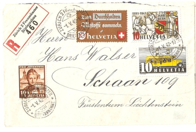 SBK 253  (Mi 398) 750 Jahre Bern Schaan10