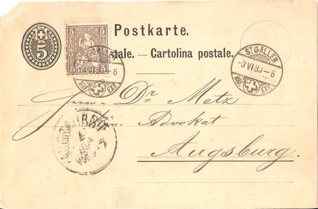 SBK 30, 5 Rp braun, weisses Papier 1862 Sitzen10