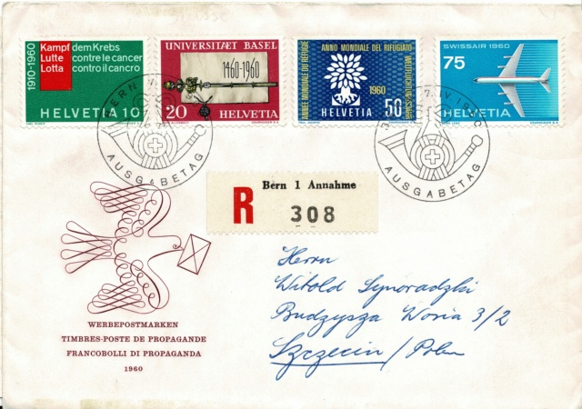 SBK 353 (Mi. 694) Weltflüchtlingsjahr Weltfl13