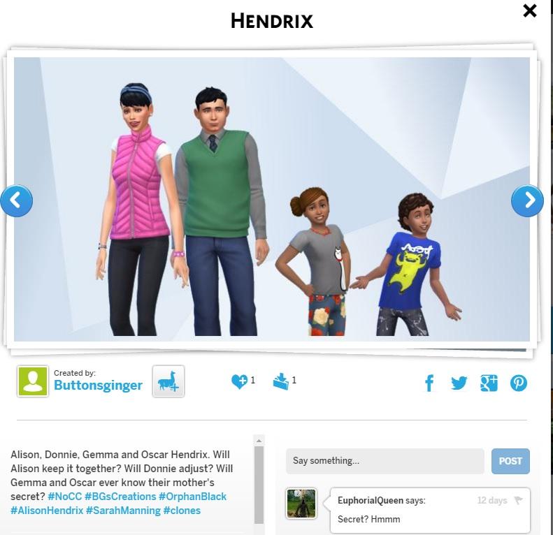 BG's Sims #BGsCreations  - Page 5 Hendri10