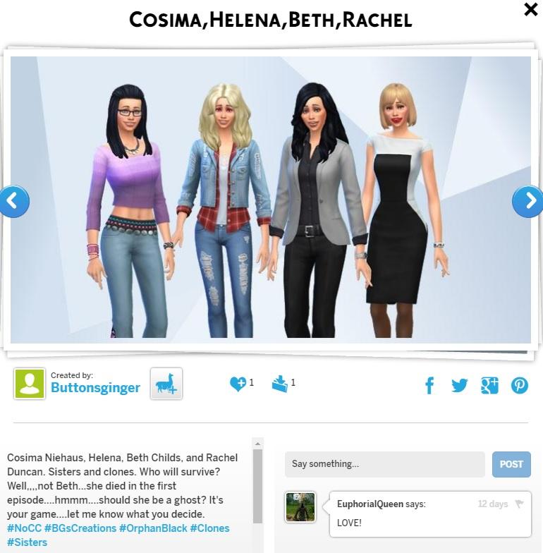 BG's Sims #BGsCreations  - Page 5 Sister10