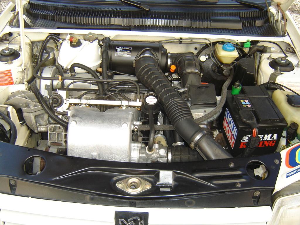 [88] 205 GTI 1L9 - 130cv - AM87 - Blanc Meije Dsc05113