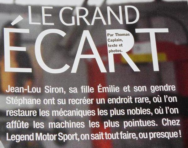 Légend Motor Sport dans CAFE RACER 210