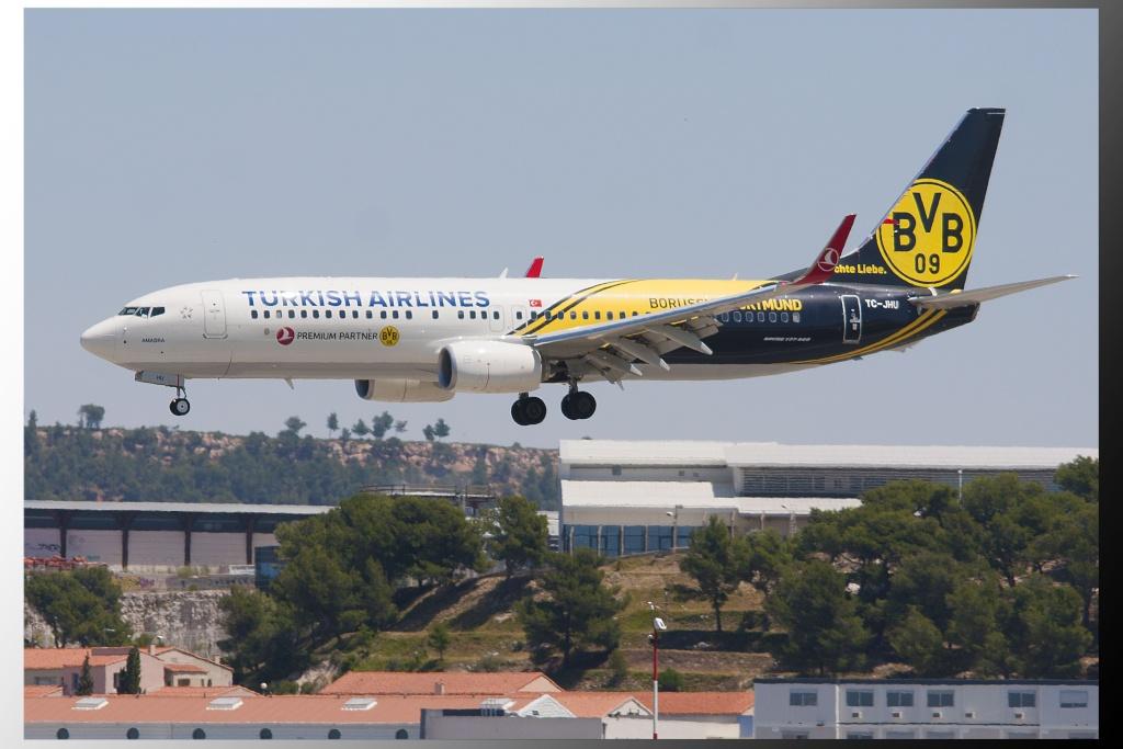 Aéroport Marseille Provence B737-810