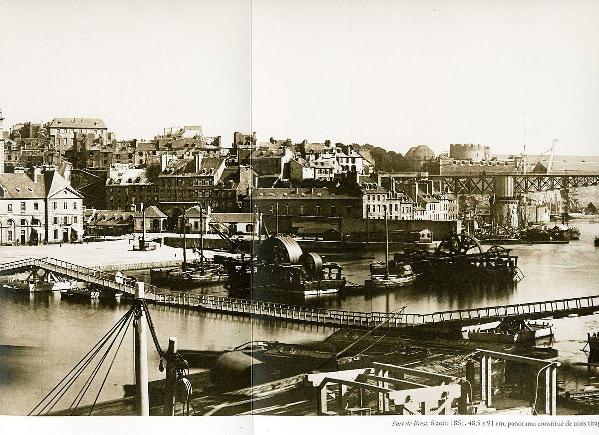 Vues du port de Brest Sans_t11