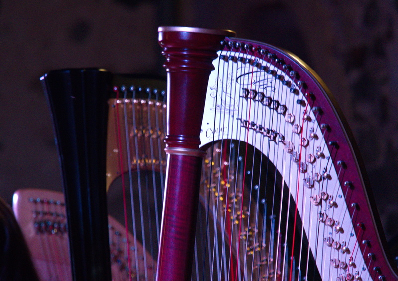 Concert de harpes à Saint Geniez d'Olt... 3harpe10