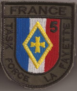Les écussons de la Task Force La Fayette 5e_man10