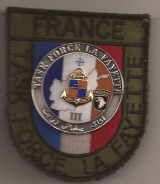 Les écussons de la Task Force La Fayette Avec_i10