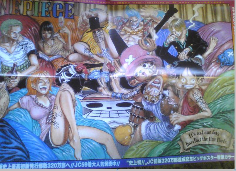 One Piece Manga 595 Spoiler Pics 00010