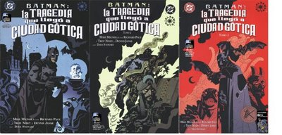 Batman:La Tragedia Que Llego A Ciudad Gotica y El Libro De Las Sombras Batman10