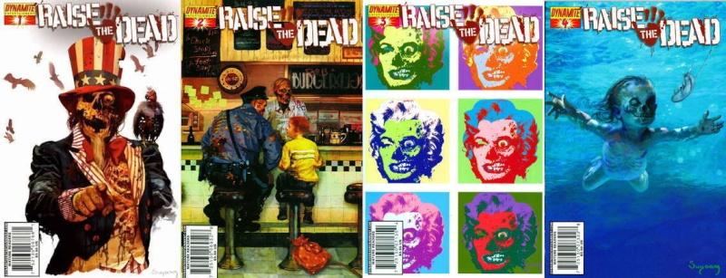 "Dynamite Comics:""Raise the Dead"" Portad12"