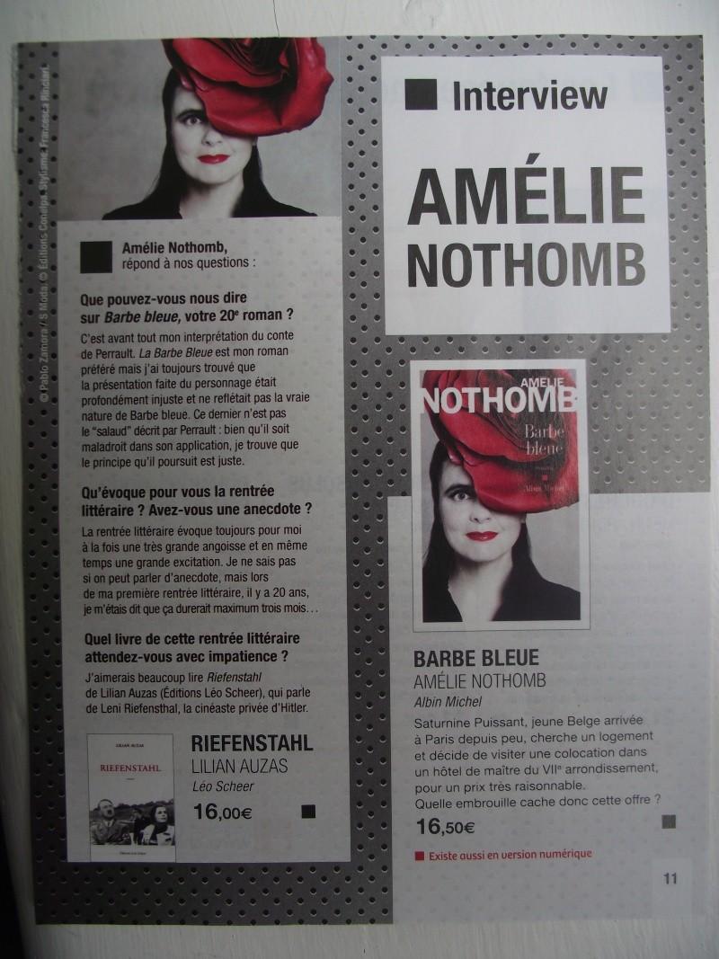 Magazine de la boutique Chapitre (rentrée littéraire 2012) Dscf4213