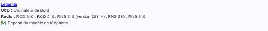 Rns 510 + iPhone 6s + Bluetooth = ... Rien  Captur11