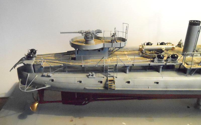 Aviso torpilleur 1905 en Scratch intégral au 1/100ème - Page 13 33010