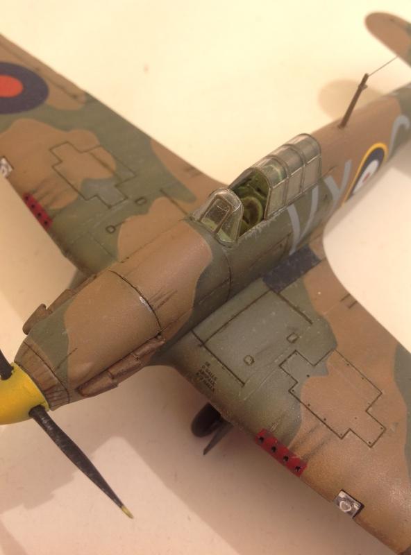 Airfix Hurricane MkI 1/72 Image14