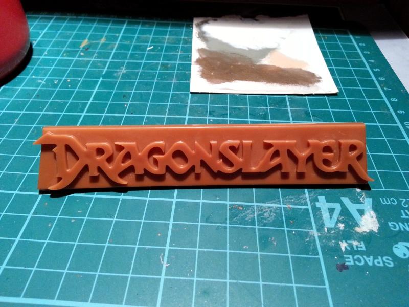"""The Vermithrax Dragon aus Disney´s """"Der Drachentöter"""" von Pegasus Modells 1:32 20130710"""