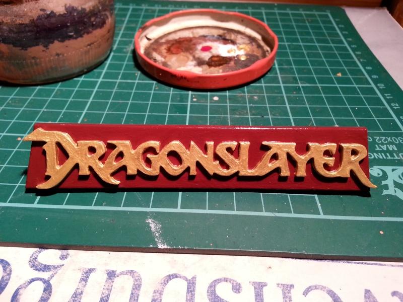 """The Vermithrax Dragon aus Disney´s """"Der Drachentöter"""" von Pegasus Modells 1:32 20130714"""