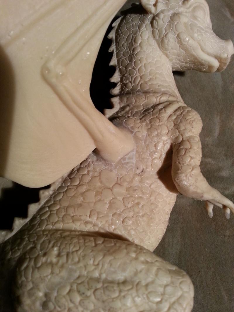 """Saphira aus """"Eragon-Vermächtnis der Drachenreiter"""" 1:1 Livesize 20130742"""