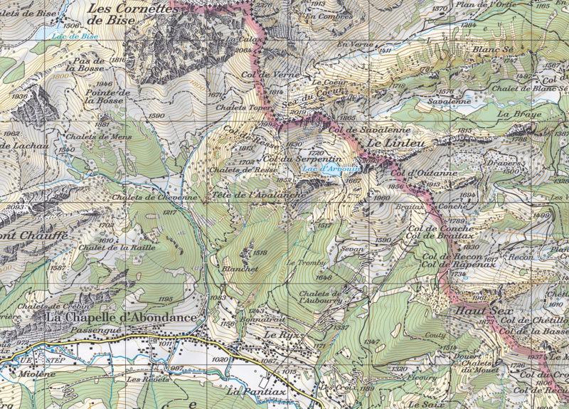 Yocco et Anook dans les Alpes Lac_d_10
