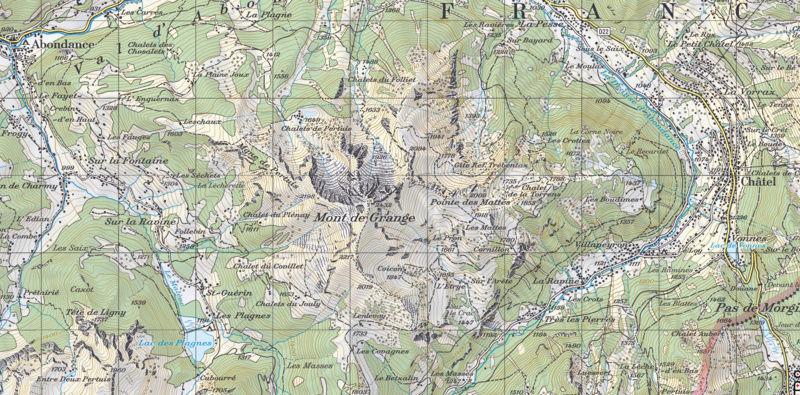 Yocco et Anook dans les Alpes Lac_de10