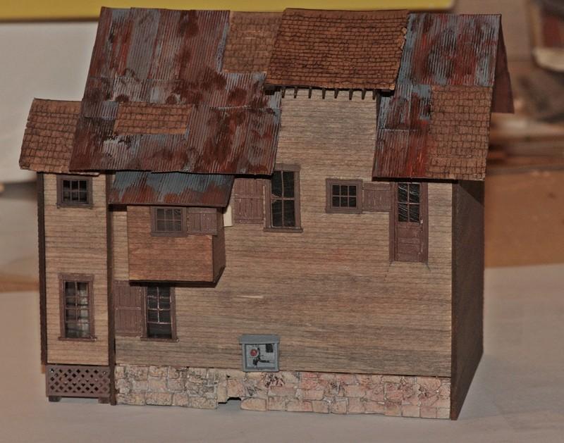 Gebäude für zukünftiges Diorama 1215