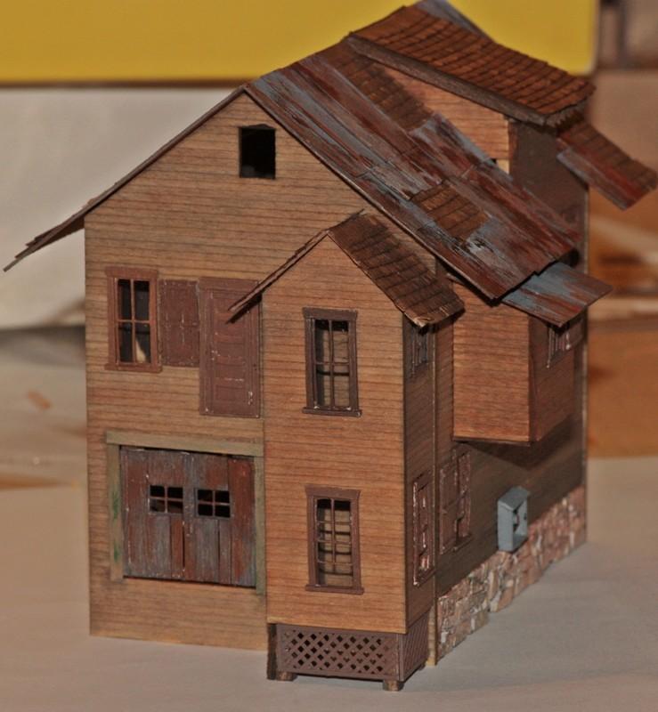 Gebäude für zukünftiges Diorama 1314