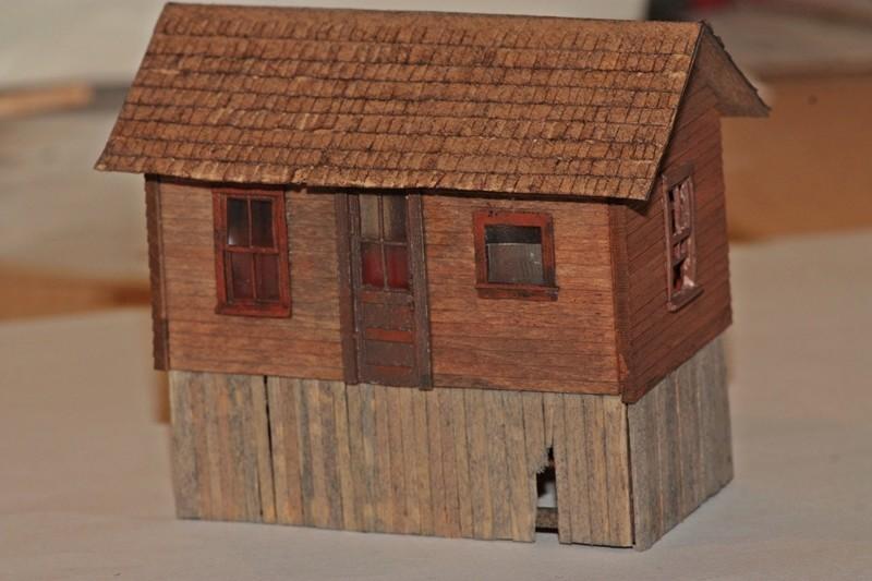 Gebäude für zukünftiges Diorama 1514