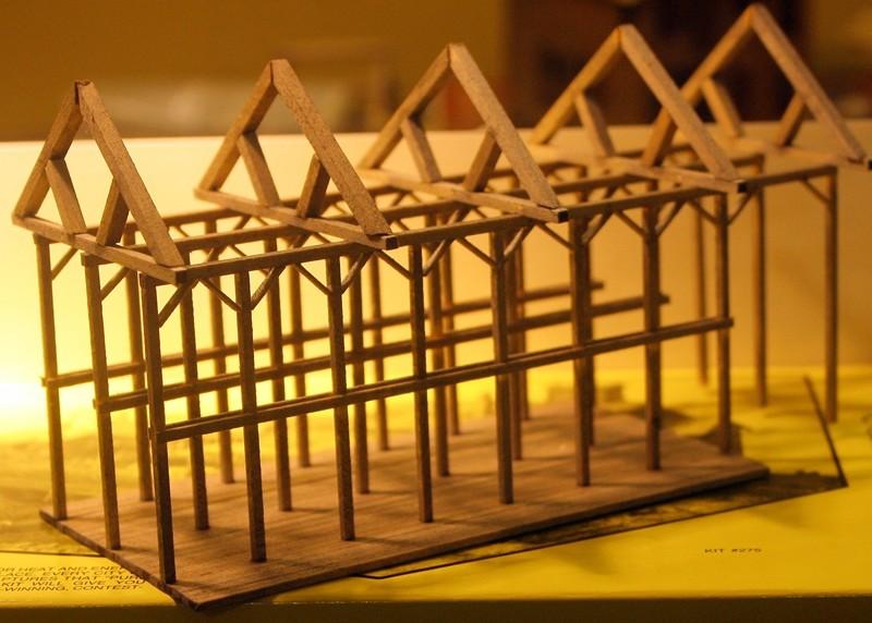 Gebäude für zukünftiges Diorama 3210